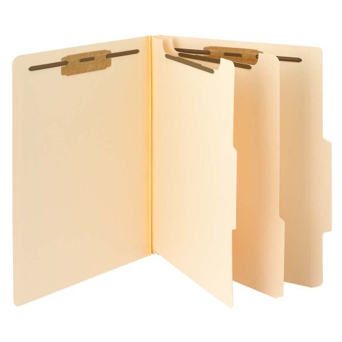 Smead Classification File Folder, 2 Dividers, 2