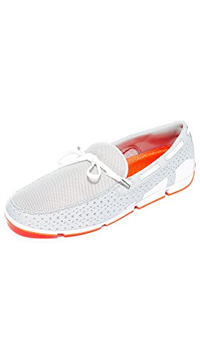 SWIMS Men's Breeze Lace Loafers Grey/White/Orange