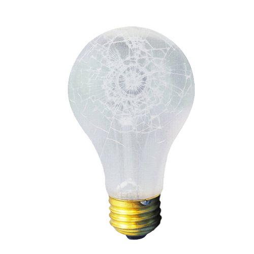 Bulbrite 100A//RS//TF Shatter Resistant 100W Standard A19 Bulb