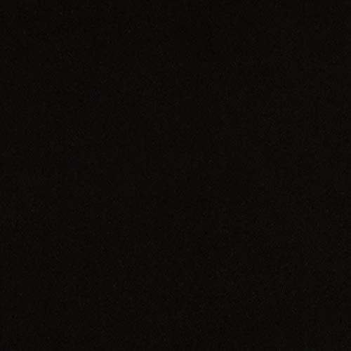 Robert Kaufman Kona Premium Cotton Jet Black Fabric by The Yard