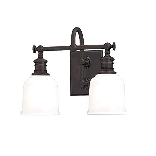 Hudson Valley Lighting 1972-OB Keswick Collection - Two Light Wall Sconce, Old Bronze