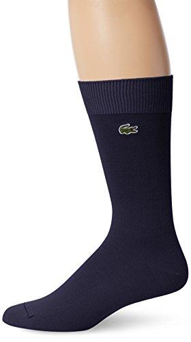 Lacoste Men's Jersey Trouser Sock, RA6300, Navy Blue, US Shoe Size 8.5-12
