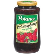 Polaner Red Raspberry Preserve, Number 10 Can - 6 cans per ()