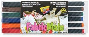 FabricMate Chisel Tip Fabric Marker, Green