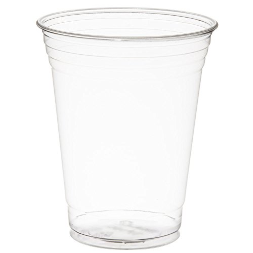 SOLO Cup Company COMINHKPR77731 TP16D-1 Solo TP16D 16 oz Plastic Ultra Clear Cold Drink Cup (1 Pack of 50) 1 Sleeve of 50