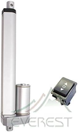 "Heavy Duty 30/"" Linear Actuator Polarity Switch Inch Stroke 12v 200LBS Max Lift"