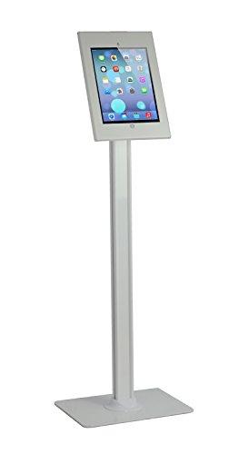 VIVO Anti-Theft Key & Lock Adjustable Floor Stand Kiosk Public Display for 12.9 Apple iPad Pro (Stand-PAD1)