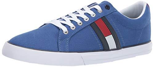 Tommy Hilfiger Men's Pally Sneaker Blue, 9.5 Medium US