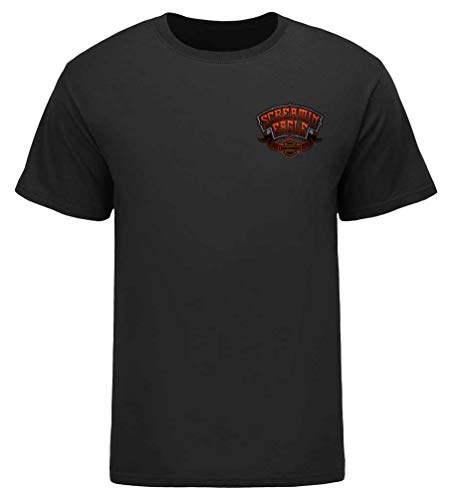 Harley-Davidson Mens Screamin' Eagle Gargoyle Short Sleeve Tee HARLMT0284 (2XL) (Screamin Eagle Harley)