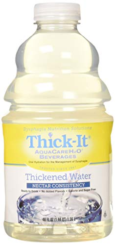 Thick-It Aquacareh20 Thickened Water Beverage, Nectar Consistency, 4 Count