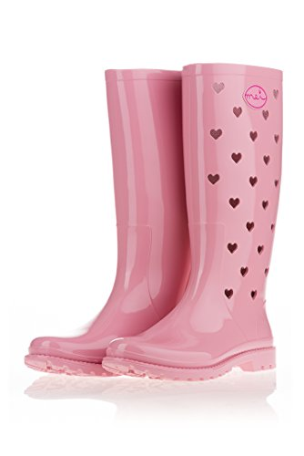 Gomma MEI Rosa Rosa di Stivali 39 EU Donna qxaxR7BE