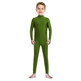 Sheface Kids Spandex Child Unitard Costume Bodysuit