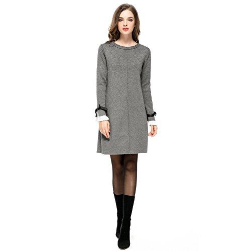 Bow Sleeve Sweater - 9