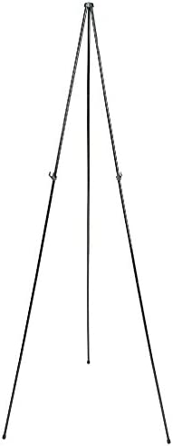 Quartet Easel Stand Collapsible Portable Display Stand for Home School Supplies Home Office Supply Tripod for Posters Paintings Art or White Boards Base 63 Max. Height Supports 5 lbs. (29E)