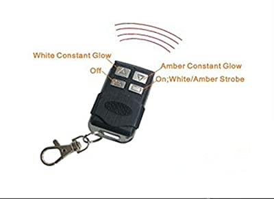 "EasyNew® 13.5"" 72W Strobe/flash Remote Wireless Controller Amber White LED Spot Flood Combo Work Lights Bar Fog Driving Off road Truck Atv Utv Trailer Boat 4wd Suv Camping Lights 9-32V"