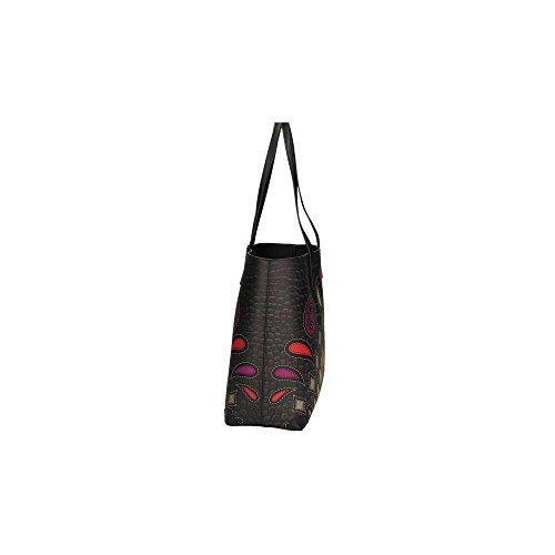 Braccialini 11600 Shopping Bag Mujer Leopardo UNICA 300 - marrone
