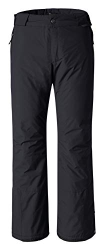 Wantdo Women's Windproof Warm Padding Insulated Outdoors Snow Pants, XL, Black (Womens Snowmobile Pants)