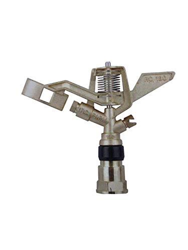 sky-w Brass Impact Sprinkler Series for Lawn Watering (Pack of 1, 3/4″ Female)