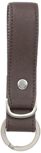 Jack Spade Men's Barrow Leather Key Fob, Mahogany, One (Mahogany Money Clip)