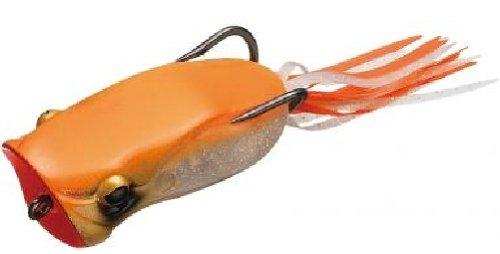 エバーグリーン(EVERGREEN) ポッパーフロッグ 239 スケルトンオレンジの商品画像