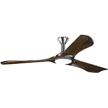 Minimalist Ceiling Fan: Monte Carlo 3MNLR72BSD Minimalist Max Ceiling Fan, 72