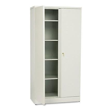 Amazon Hon Metal Storage Cabinet 5 Shelves 36w X 18d X 72