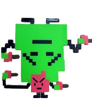 Kidrobot Adult Swim Series 1 Figure - Ignignokt & Err From Aqua Teen Hunger Force -