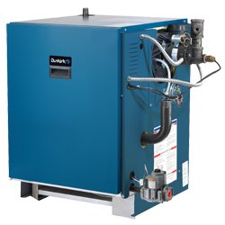 Dunkirk XEB-7 Cast Iron Natural Gas Boiler With Bell & Gossett Pump ()