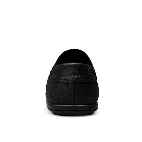 Nero Uomo Mocassini shoes Yajie mens Ipz8wxZvqx