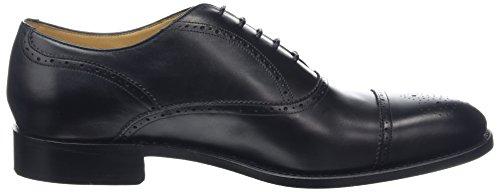 17 Calf Stringate Scarpe Uomo Barker Newcastle black Nero Oxford v8E0w