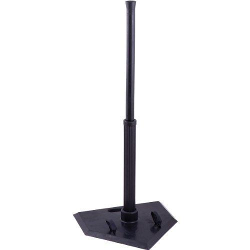 Champion Sports Portable Batting Tees (Black, 1 Position) by Champion Sports