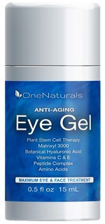 Anti Aging Eye Cream for Puffiness, Bags, Dark Circles, Wrinkles (72% Organic) - Eye Treatment for Crow's Feet and Under Eye Bags