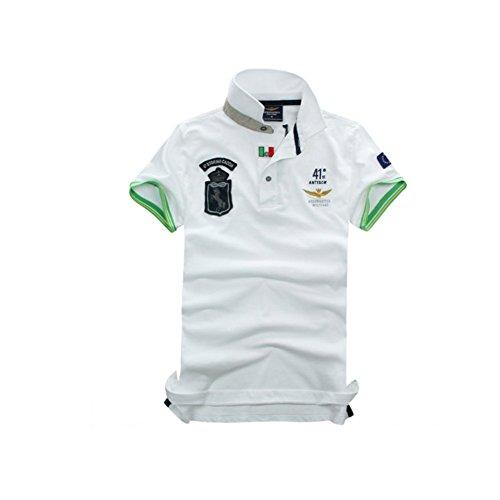 メンズ ポロシャツ 半袖 Tシャツカジュアル 紳士スポーツゴルフ シャツ ゆったり リラックス 着やすい 部屋着 吸汗速乾 夏
