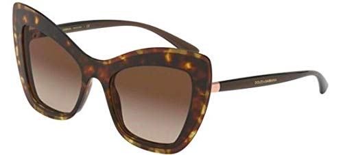 Gafas de Sol Dolce & Gabbana DG 4364 HAVANA/BROWN SHADED ...
