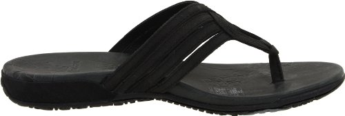 Merrell Lidia J46522 - Sandalias de vestir de cuero para mujer Negro