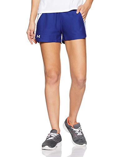Cortos Armour Mujer Blue Short Play white Up Deportivos 2 Formation Pantalones 0 Under 0qdTayT