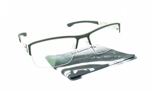 Brand New Authentic ic! berlin eyeglasses Max S. Rectangular Metal Frames