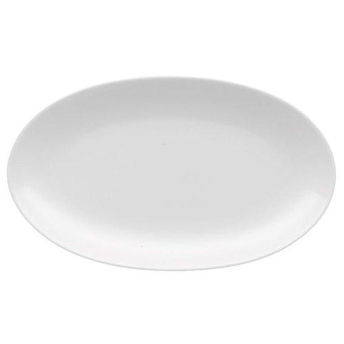 Rosenthal Jade Side Plate Oval, Plate, Porcelain, White, 24 cm, 61040-800001-15323