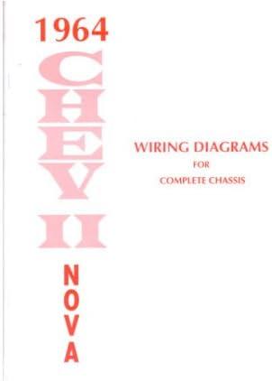 amazon.com: 1964 chevrolet chevy ii nova wiring diagrams schematics:  automotive  amazon.com