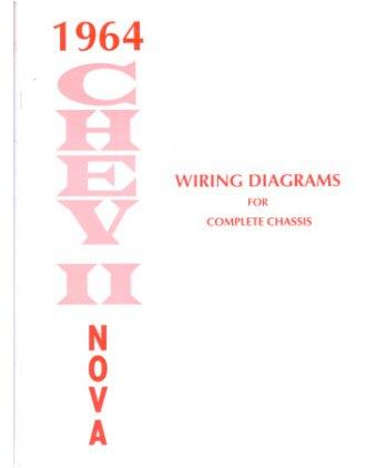 amazon com 1964 chevrolet chevy ii nova wiring diagrams schematics rh amazon com