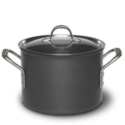 Calphalon 6-qt. Commercial Hard-Anodized Stockpot.