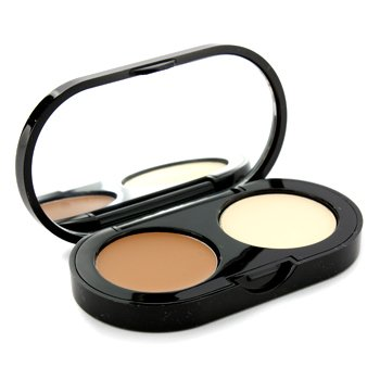 New Creamy Concealer Kit - Golden Creamy Concealer + Pale Yellow Sheer Finish Pressed Powder 3.1g/1.1oz