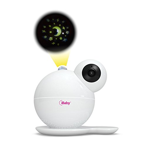 iBaby Care M7, Smart Wi-Fi enabled Digital Video Baby Monitor, 1080p Full HD, 360 Rotation, Moonlight soother, Music player, Smart sensors, iPhone and Android. by iBaby