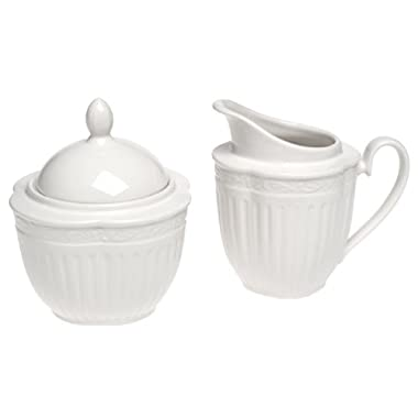 Mikasa Italian Countryside Sugar and Creamer Set