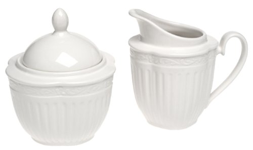 - Mikasa Italian Countryside Sugar and Creamer Set