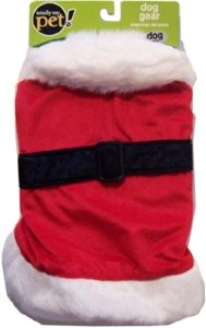 Totally My Pet Dog Gear Santa Suit, Large