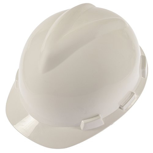 The Perfect V-Gard Construction Hard Hat For Men & Women – Safety Engineering ABS Helmet W/ Adjustable Rachet LDPE Headband & Removable Chin Strap – Osha-ANSI Standards, Type I, Class (Hard Hats For Construction)