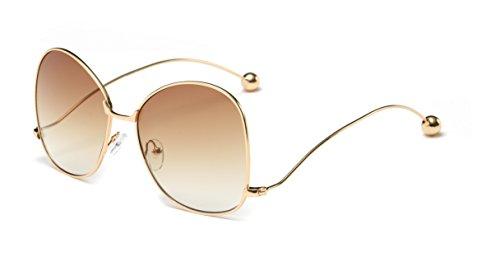 - Cramilo Women's Vintage Oversized Cat Eye Sunglasses Fashion Unisex Eye Glasses