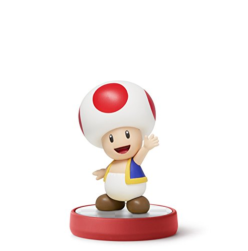 Toad amiibo (Super Mario Bros Series) (Wii Brothers Super 3 Mario)
