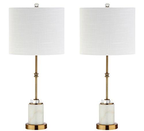 (Jonathan Y JYL5003A-SET2 Table Lamp, 12